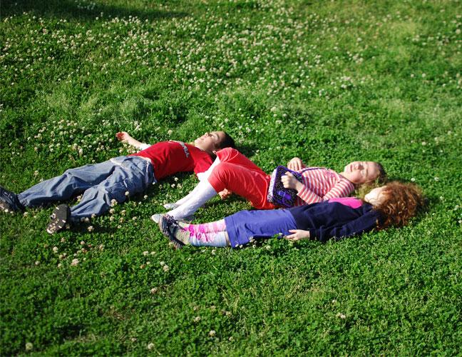 on-grass