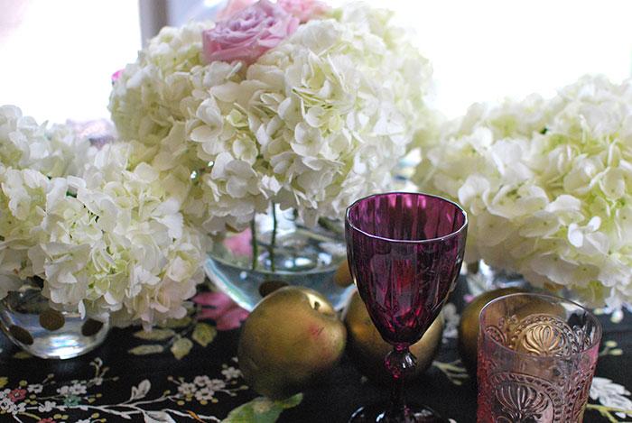 Shavuot Floral Centerpiece