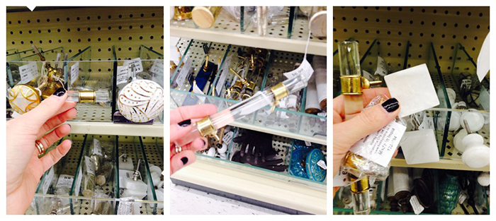 Acrylic hardware from hobby lobby