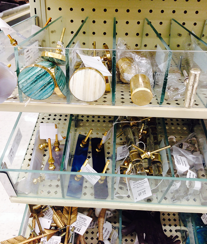 Hardware selection at hobby lobby
