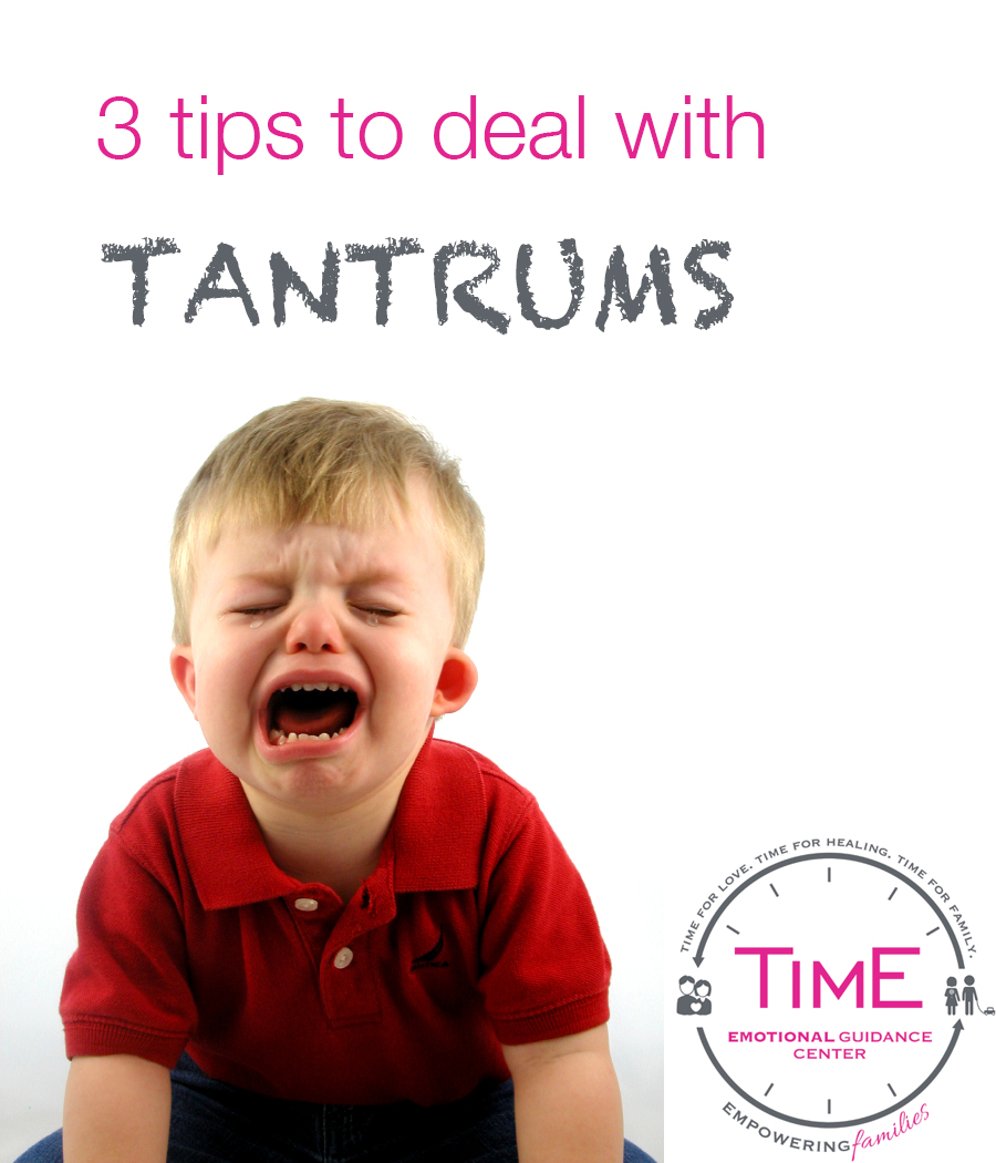 Three tips to deal with kids' tantrums by Time emotional guidance center and Jewish Latin Princess