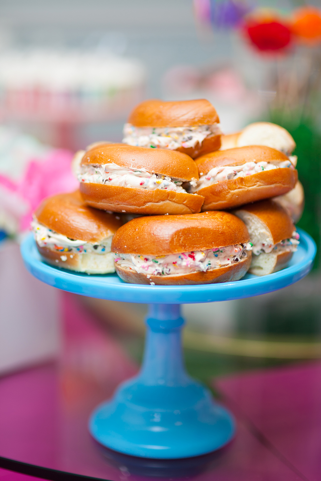 Sweet Noshings Unicorn Bagels by Amy Kritzer