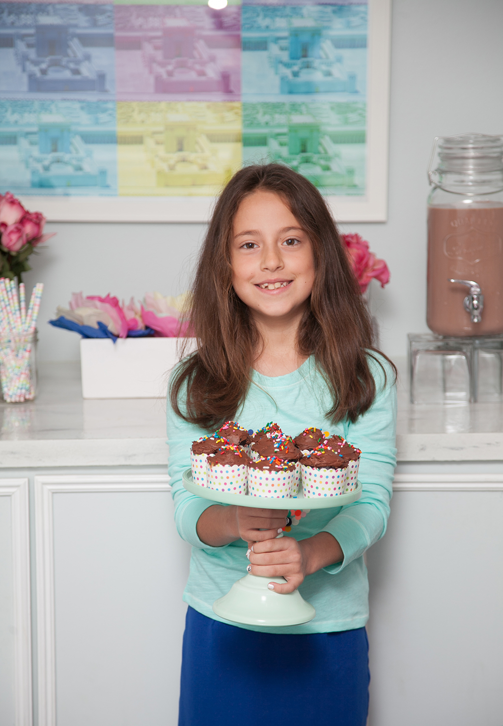 Nine Year Old Birthday Girl by Jewish Latin Princess