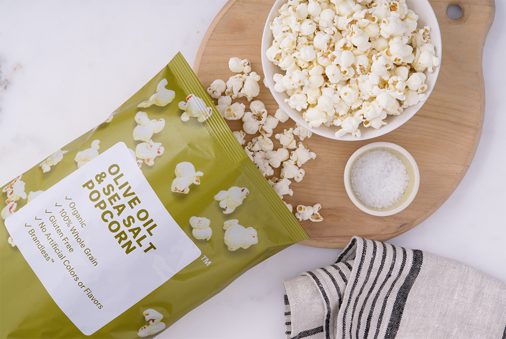 Brandless Olive Oil Popcorn