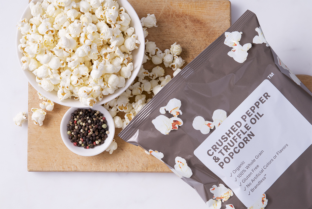 Brandless Pepper Truffle Popcorn