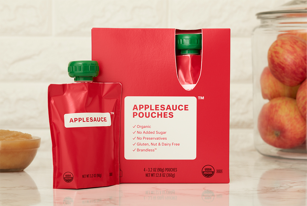 Brandless Applesauce Pouches