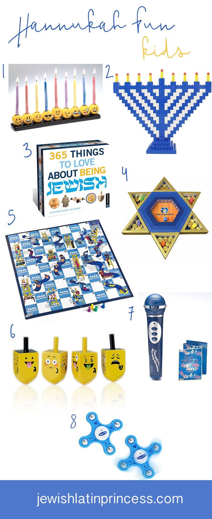 Hannukah Giftts for Kids