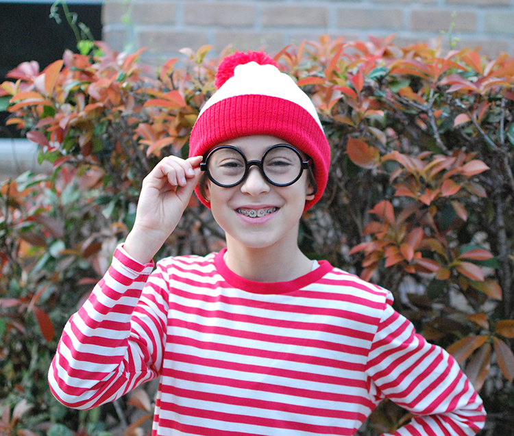 waldo purim costume