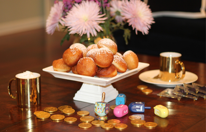 Sufganiyot with a Latin Twist