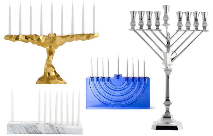 Hannukah Menorah Roundup by Jewish Latin Princess