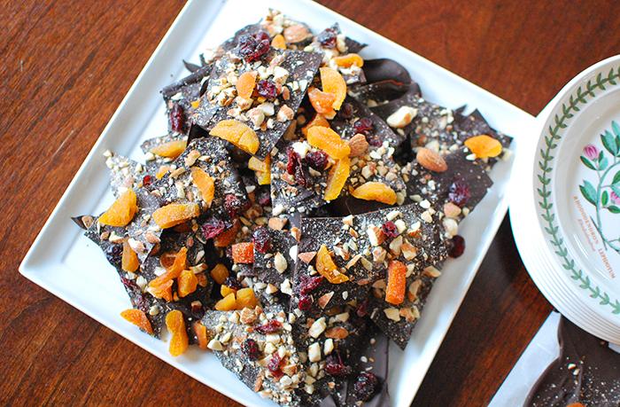 Corteza de chocolate para Shabbat