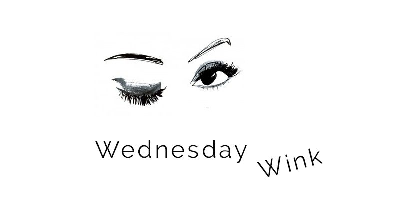 Wednesday Wink: G as in G-d!
