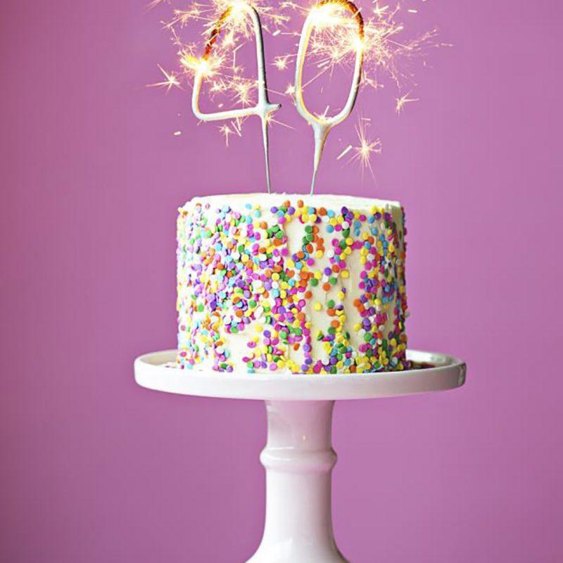 How am I celebrating my 40th Birthday!?