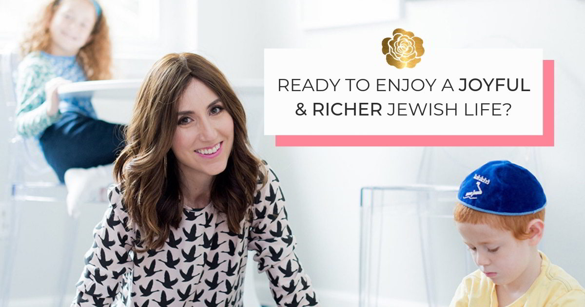 Ready to enjoy and joyful and richer Jewish life?