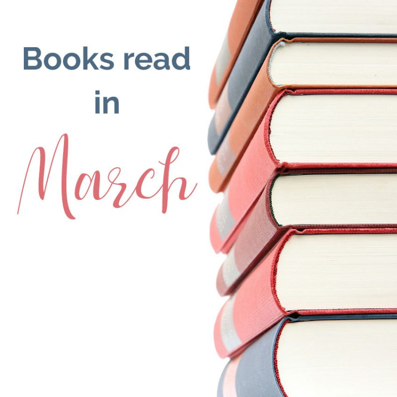 Books Read in March 2019