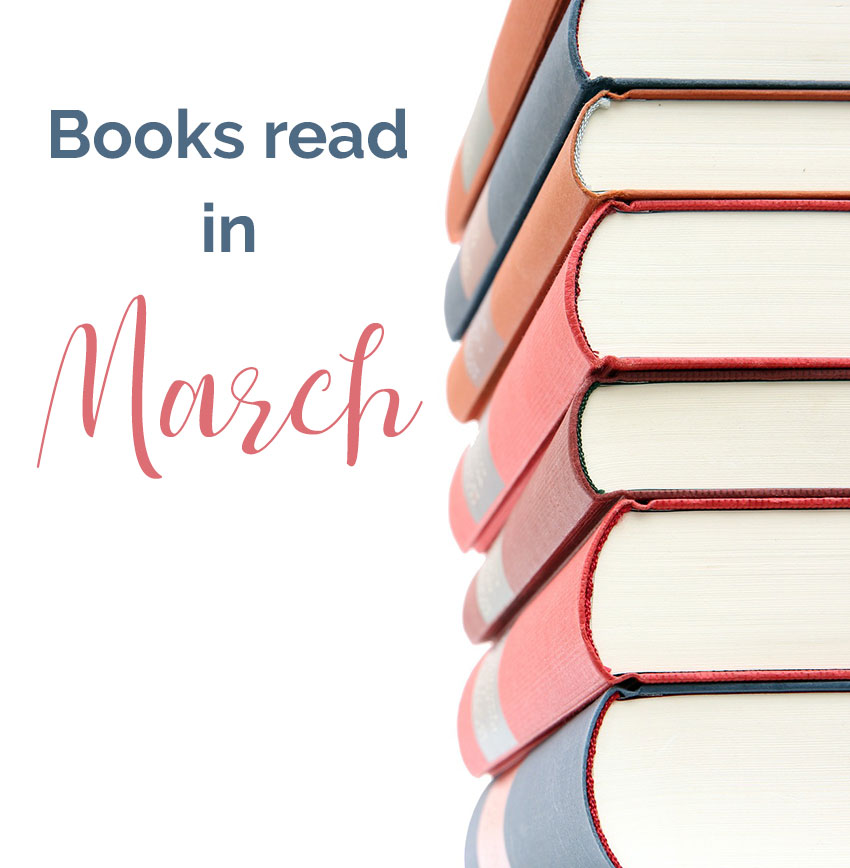 Books Read in March 2019
