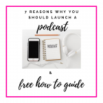 7 Reasons Why You Should Launch a Podcast Now